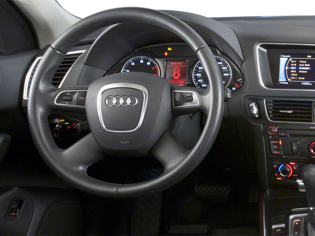 2011 Audi Q5 Prices and Values Utility 4D 2.0T Premium Plus AWD driver's dashboard