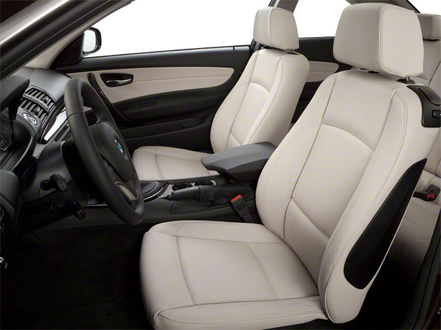 2011 BMW 1 Series M Prices and Values Coupe 2D M front seat interior