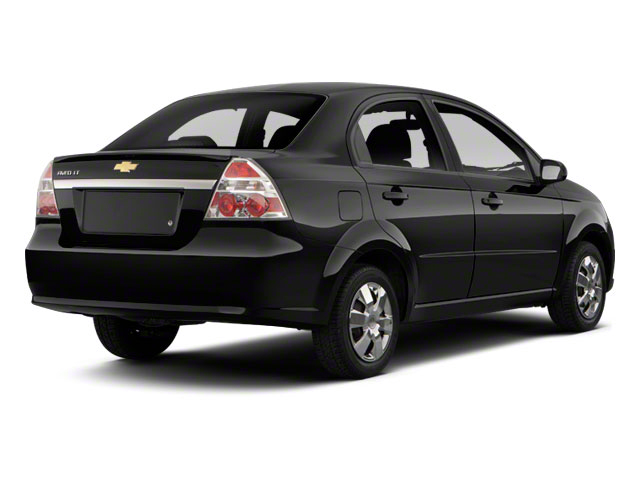 2011 Chevrolet Aveo Pictures Aveo Sedan 4D LT Photos Side Rear View