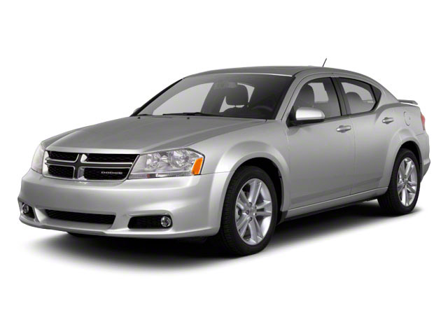 2011 Dodge Avenger Prices and Values Sedan 4D Lux side front view