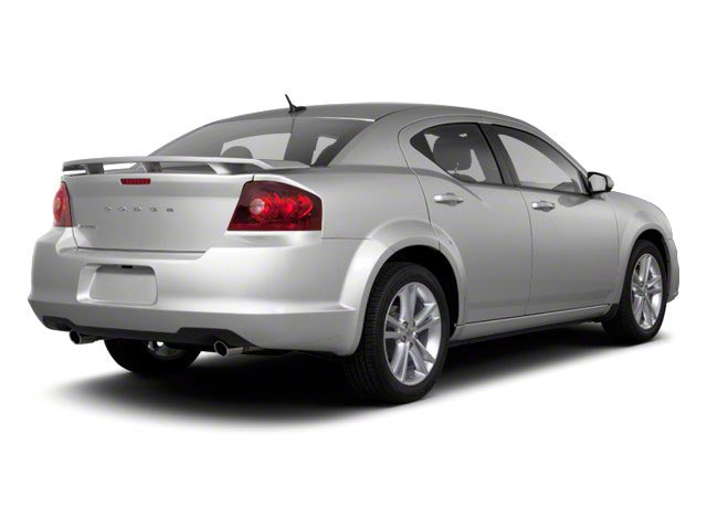 2011 Dodge Avenger Prices and Values Sedan 4D Lux side rear view