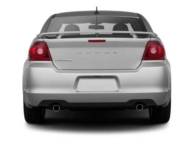 2011 Dodge Avenger Prices and Values Sedan 4D Heat rear view