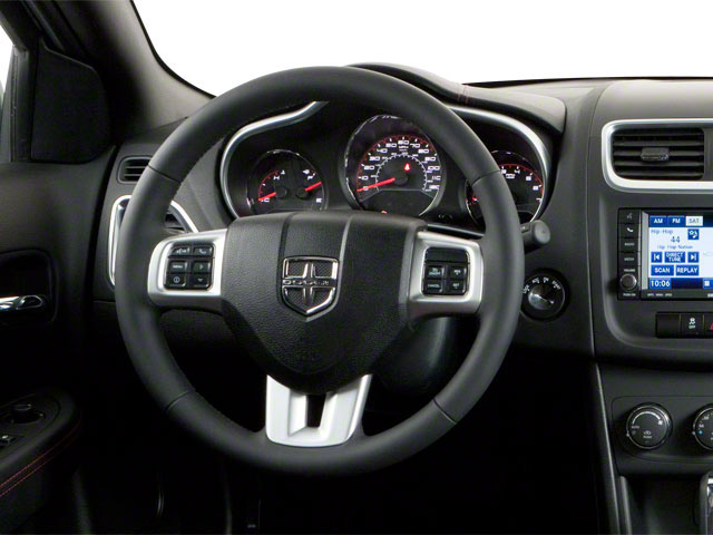 2011 Dodge Avenger Prices and Values Sedan 4D Lux driver's dashboard