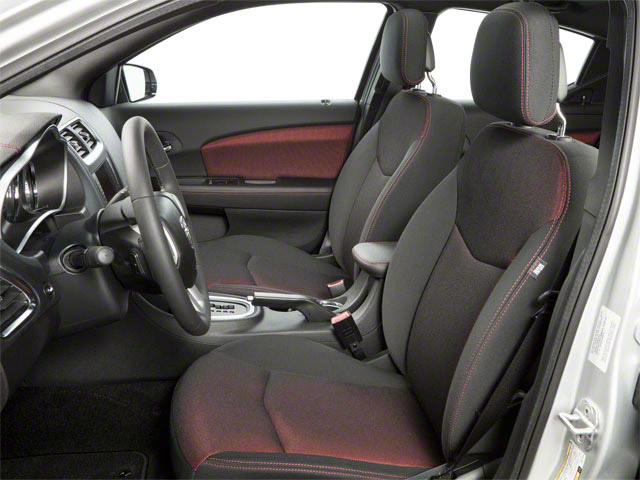 2011 Dodge Avenger Prices and Values Sedan 4D Lux front seat interior