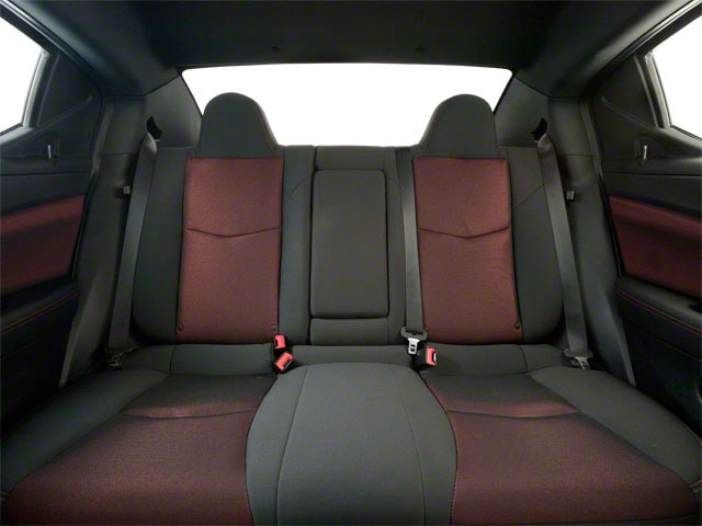 2011 Dodge Avenger Prices and Values Sedan 4D Lux backseat interior
