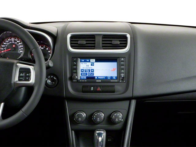 2011 Dodge Avenger Prices and Values Sedan 4D Lux center dashboard