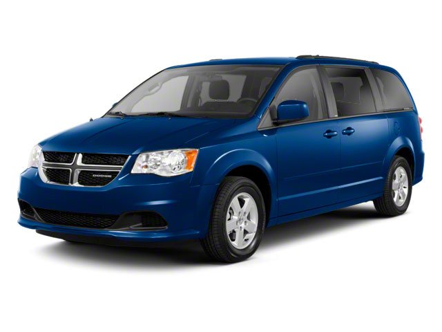 2011 Dodge Grand Caravan Prices and Values Grand Caravan Crew side front view
