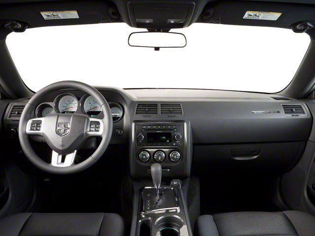 2011 Dodge Challenger Pictures Challenger Coupe 2D SRT-8 photos full dashboard