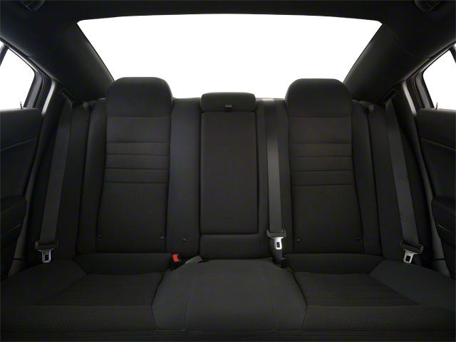 2011 Dodge Charger Prices and Values Sedan 4D R/T AWD backseat interior