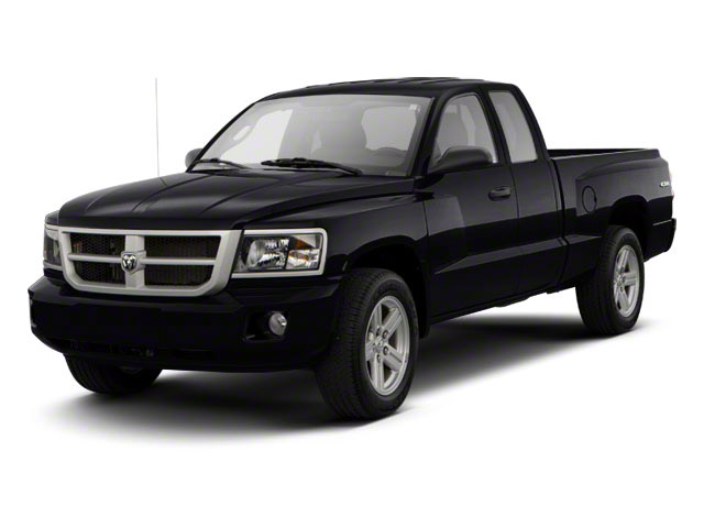 2011 Ram Truck Dakota Pictures Dakota Extended Cab Bighorn/Lone Star photos side front view