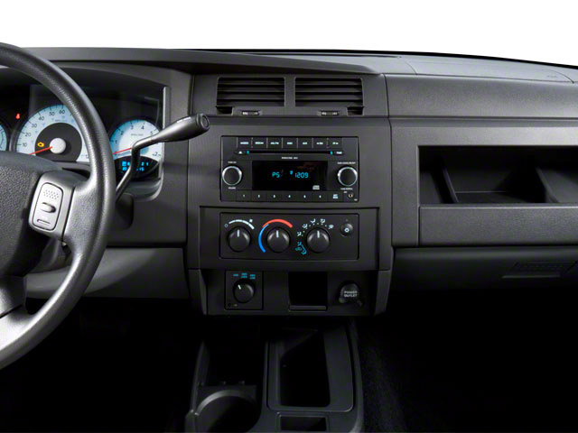 2011 Ram Truck Dakota Pictures Dakota Extended Cab Bighorn/Lone Star photos center dashboard