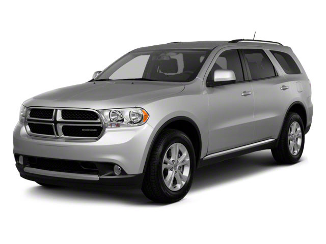 2011 Dodge Durango Prices and Values Utility 4D R/T AWD side front view