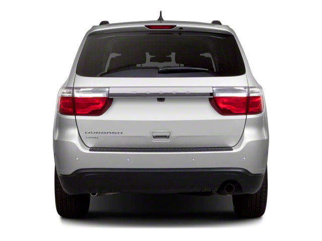 2011 Dodge Durango Prices and Values Utility 4D R/T AWD rear view