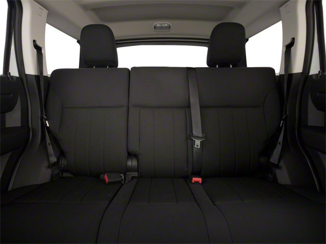 2011 Dodge Nitro Prices and Values Utility 4D SE 4WD backseat interior