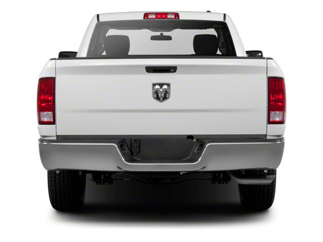 2011 Ram Truck 1500 Prices and Values Regular Cab ST 2WD rear view