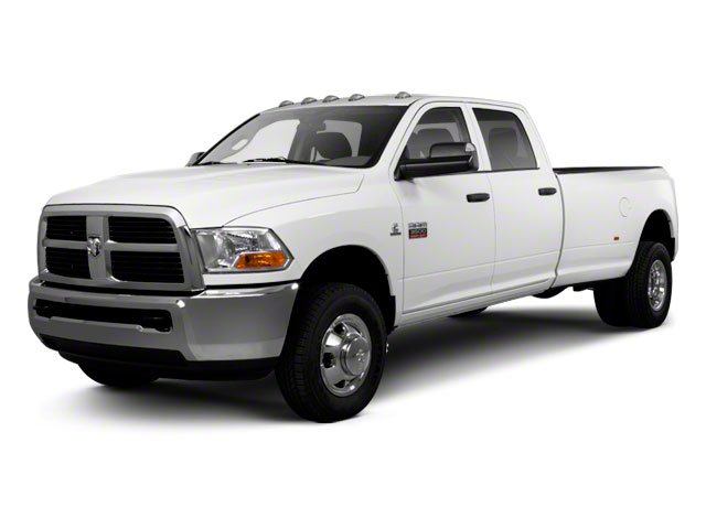 2011 Ram Truck 3500 Prices and Values Crew Cab Outdoorsman 4WD side front view
