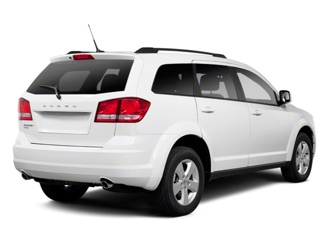 2011 Dodge Journey Prices and Values Utility 4D Crew AWD side rear view