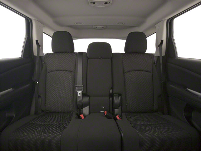 2011 Dodge Journey Prices and Values Utility 4D Crew AWD backseat interior