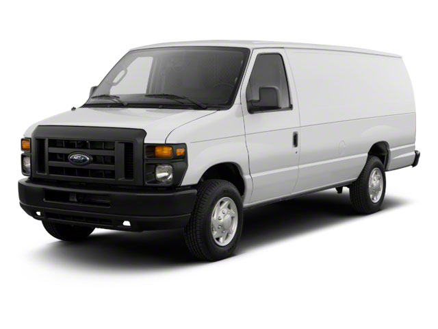 2011 Ford Econoline Wagon Pictures Econoline Wagon Super Duty Extended Wagon XLT photos side front view