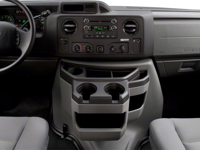 2011 Ford Econoline Wagon Pictures Econoline Wagon Super Duty Extended Wagon XLT photos center console