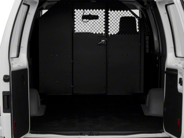 2011 Ford Econoline Wagon Prices and Values Club Wagon XL open trunk