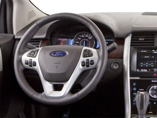 2011 Ford Edge Prices and Values Wagon 4D SE AWD driver's dashboard