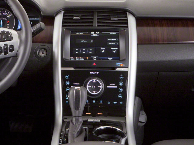 2011 Ford Edge Prices and Values Wagon 4D SE AWD center console