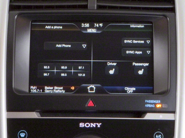 2011 Ford Edge Prices and Values Wagon 4D SE AWD navigation system