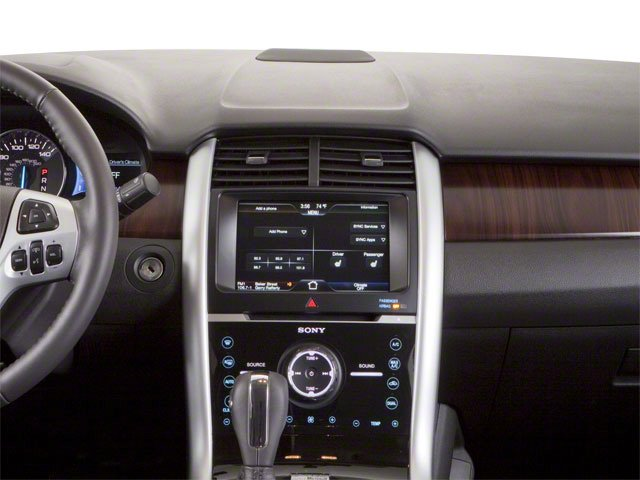2011 Ford Edge Prices and Values Wagon 4D SE AWD center dashboard