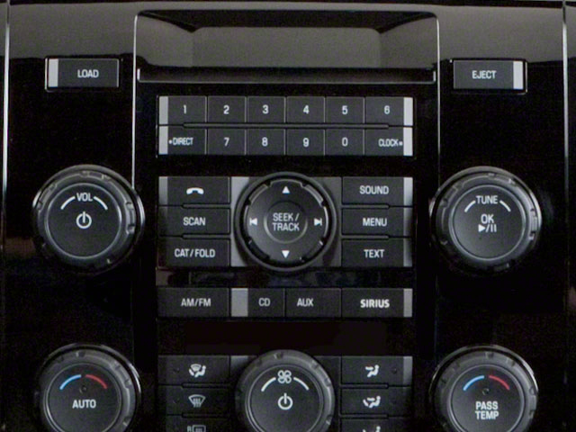2011 Ford Escape Prices and Values Utility 4D Limited 2WD (V6) stereo system