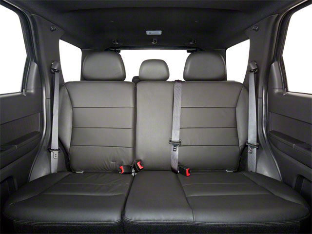 2011 Ford Escape Prices and Values Utility 4D Limited 2WD (V6) backseat interior