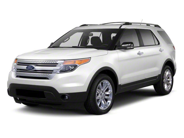 2011 Ford Explorer Prices and Values Utility 4D Limited 2WD side front view