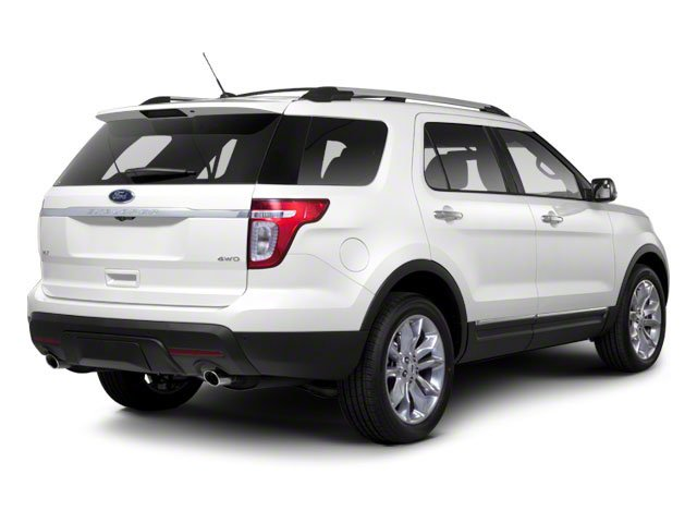 2011 Ford Explorer Prices and Values Utility 4D Limited 2WD side rear view