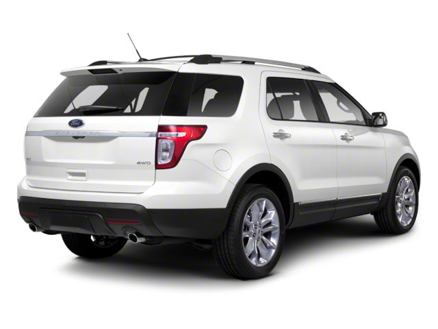 2011 Ford Explorer Prices and Values Utility 4D Limited 4WD side rear view