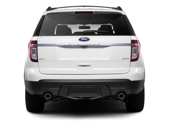 2011 Ford Explorer Prices and Values Utility 4D Limited 4WD rear view