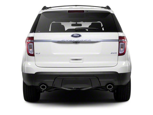2011 Ford Explorer Prices and Values Utility 4D Limited 2WD rear view
