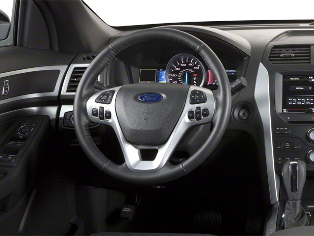 2011 Ford Explorer Prices and Values Utility 4D Limited 2WD driver's dashboard