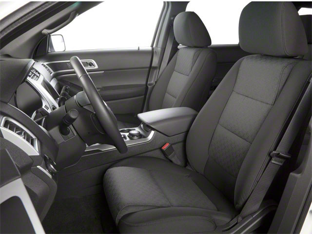 2011 Ford Explorer Prices and Values Utility 4D Limited 2WD front seat interior