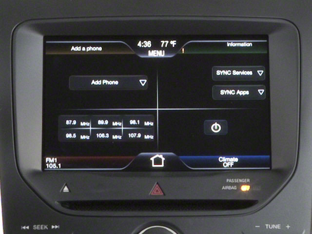 2011 Ford Explorer Prices and Values Utility 4D Limited 2WD stereo system