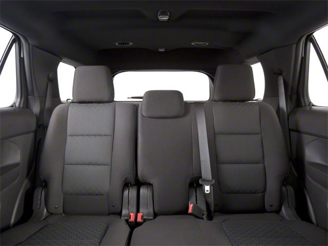 2011 Ford Explorer Prices and Values Utility 4D Limited 4WD backseat interior