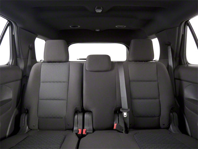 2011 Ford Explorer Prices and Values Utility 4D Limited 2WD backseat interior