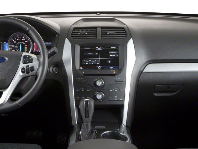 2011 Ford Explorer Prices and Values Utility 4D Limited 2WD center dashboard