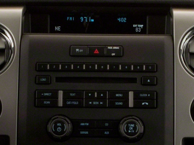 2011 Ford F-150 Prices and Values SuperCrew FX4 4WD stereo system