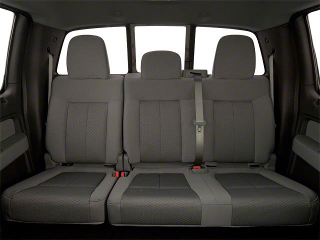 2011 Ford F-150 Prices and Values SuperCrew FX4 4WD backseat interior