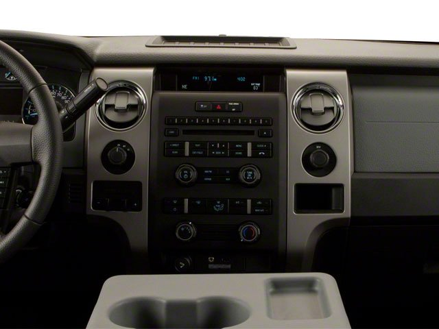 2011 Ford F-150 Prices and Values SuperCrew FX4 4WD center dashboard