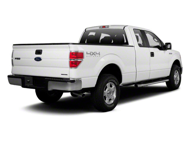 2011 Ford F-150 Prices and Values Supercab XLT 2WD side rear view