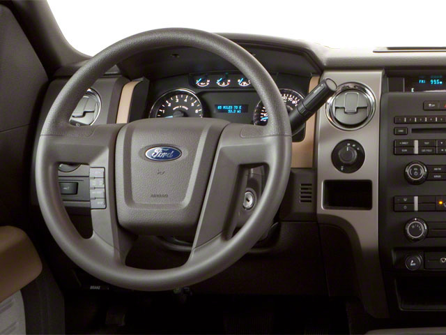 2011 Ford F-150 Prices and Values Supercab XLT 2WD driver's dashboard