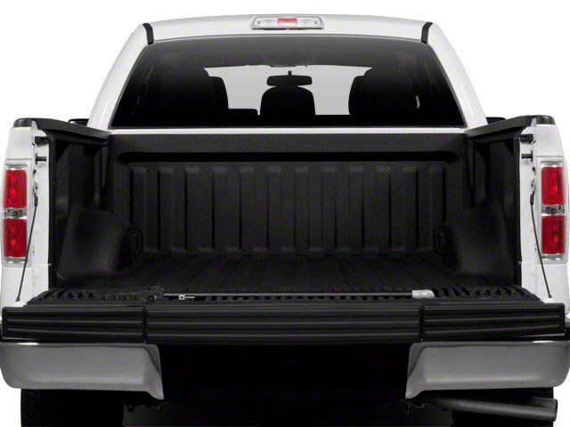 2011 Ford F-150 Prices and Values Supercab XLT 2WD open trunk