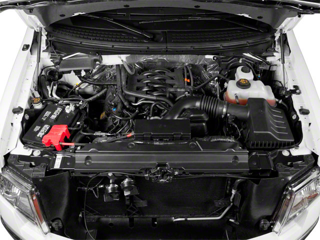 2011 Ford F-150 Prices and Values Supercab XLT 2WD engine