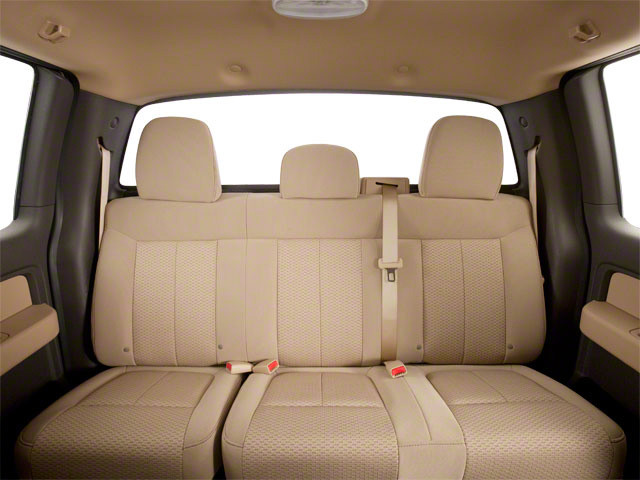 2011 Ford F-150 Prices and Values Supercab XLT 2WD backseat interior